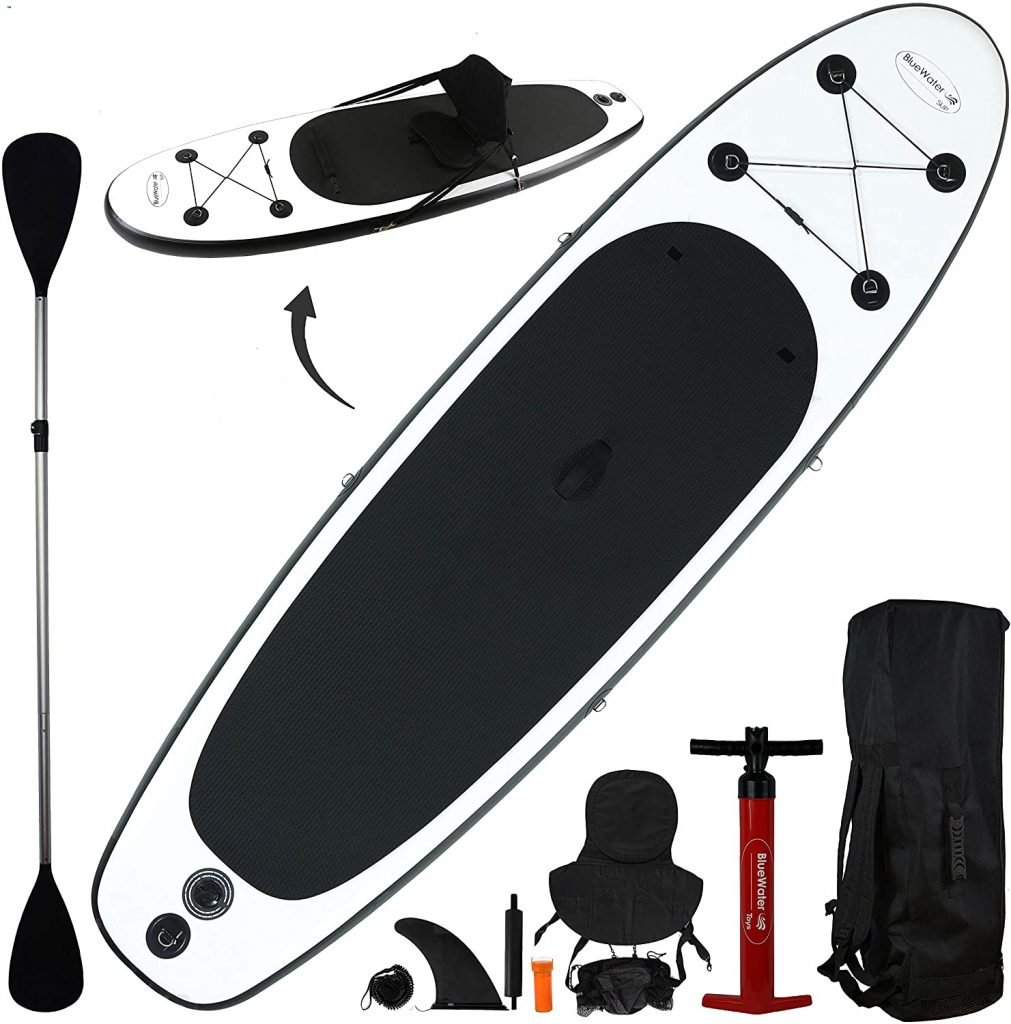 Bluewater Toys 10' Inflatable Stand Up Paddle Board/Kayak