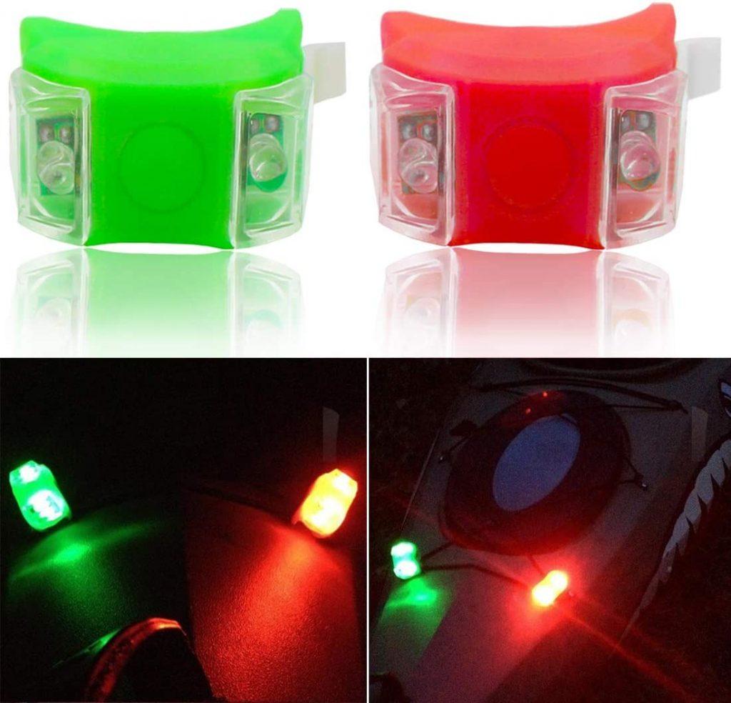 Botepon Red and Green Led Navigation Lights, Marine Boat Bow Lights