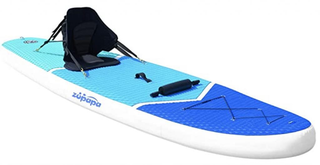 Zupapa 2020 Inflatable Kayak Hybrid Paddle Board