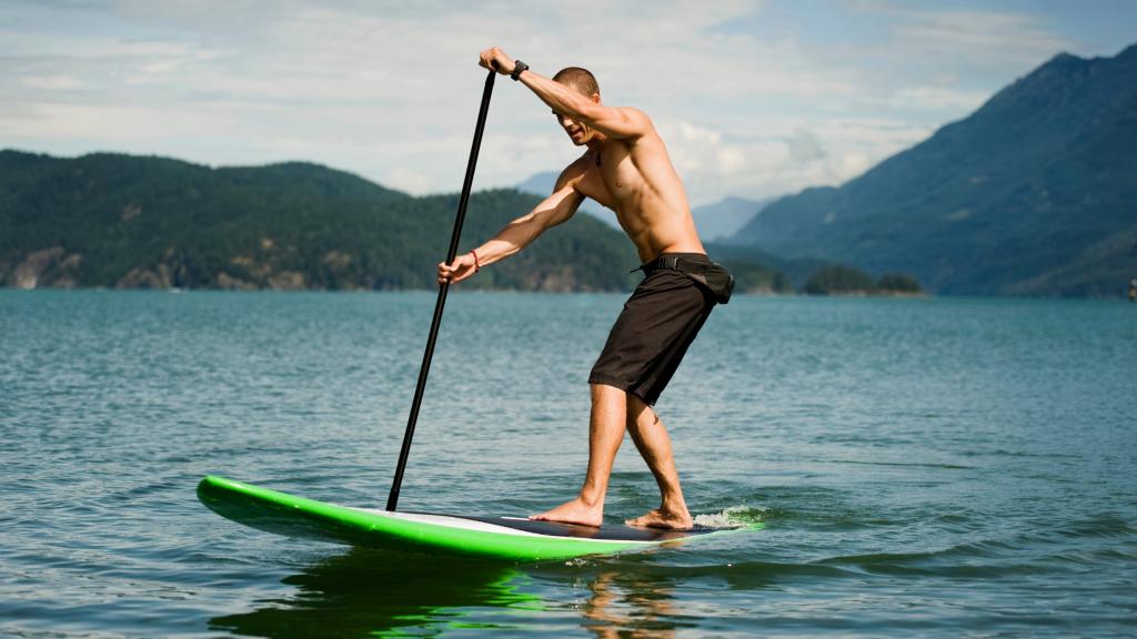 Paddle Boarding Exercise