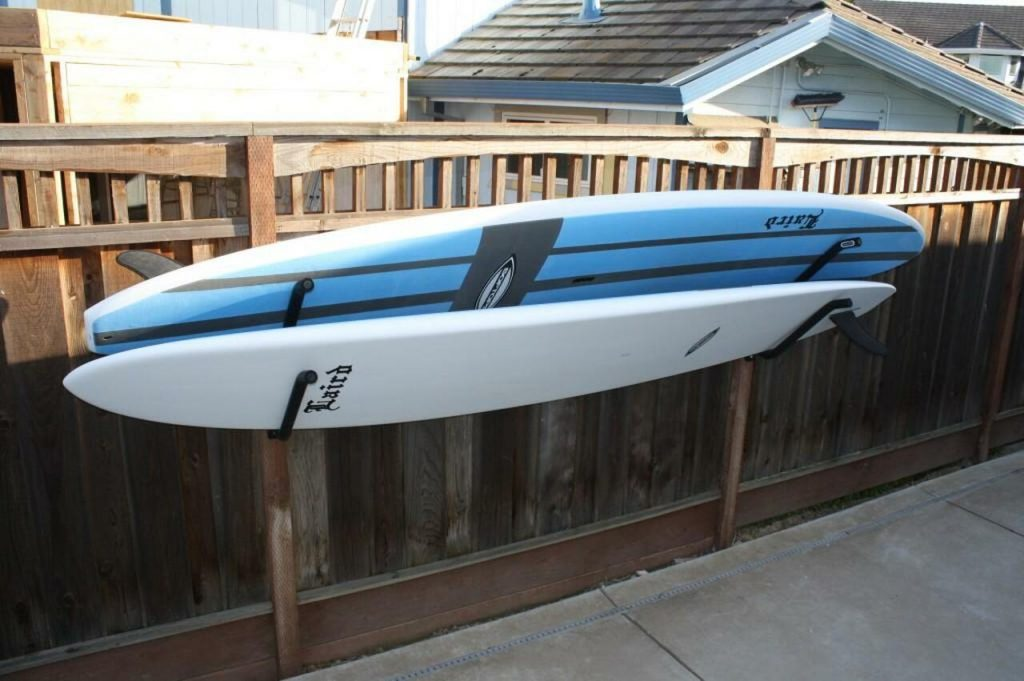 Storing A Paddle Board Outdoors