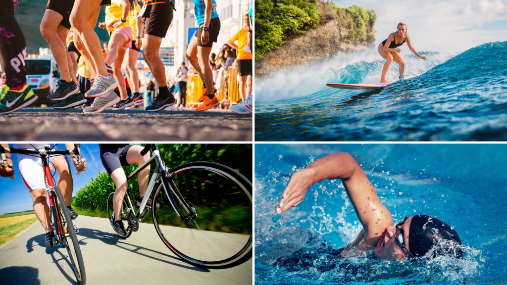 Calories Burned Paddle Boarding vs Other Sports (per hour)