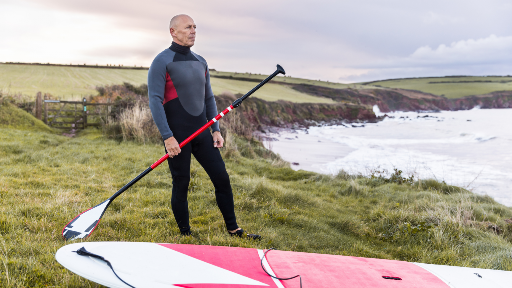 Paddleboarding With A Wetsuit