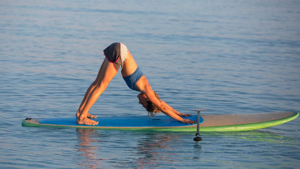 Intermediate Paddle Board Yoga Poses
