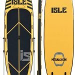 15 isle inflatable megalodon paddle board review