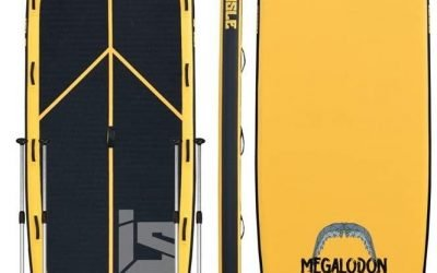 15′ Isle Inflatable Megalodon Paddle Board Review