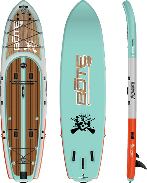 BOTE Rackham Aero 12'4″ Fishing Paddle Board