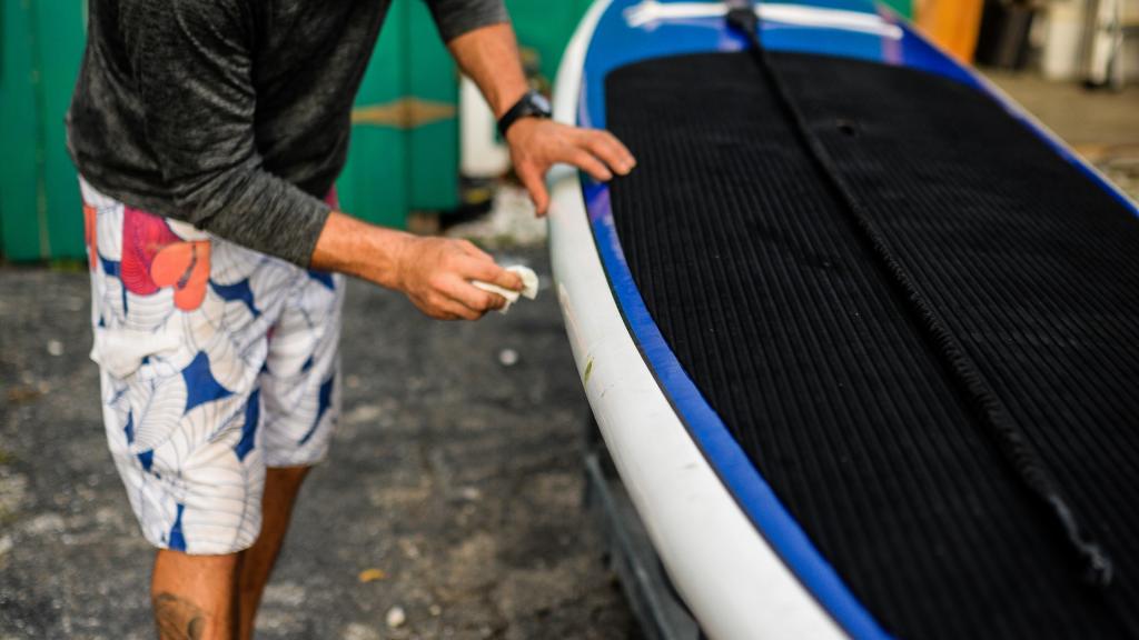 Damaged Paddle Board
