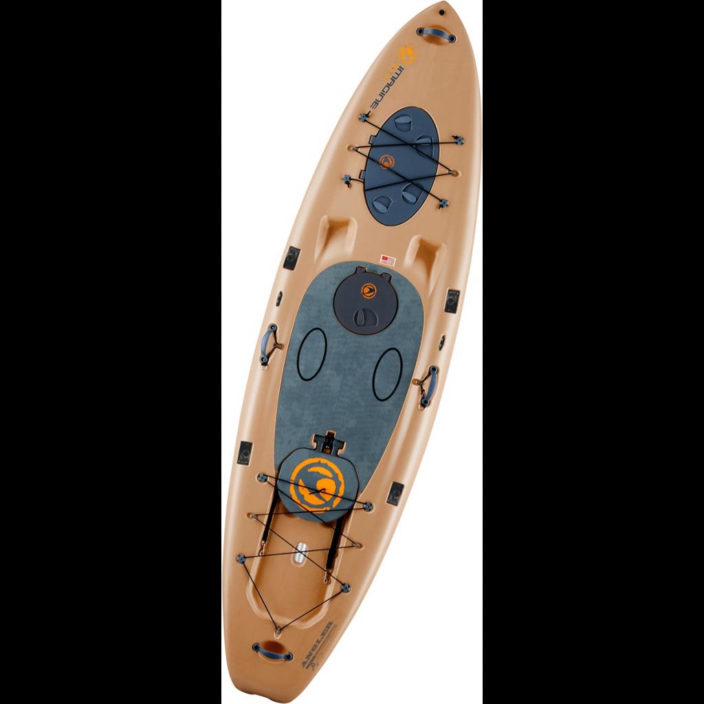 Imagine Surf V2 Wizard Angler SUP Board 11' Fishing Paddle Board