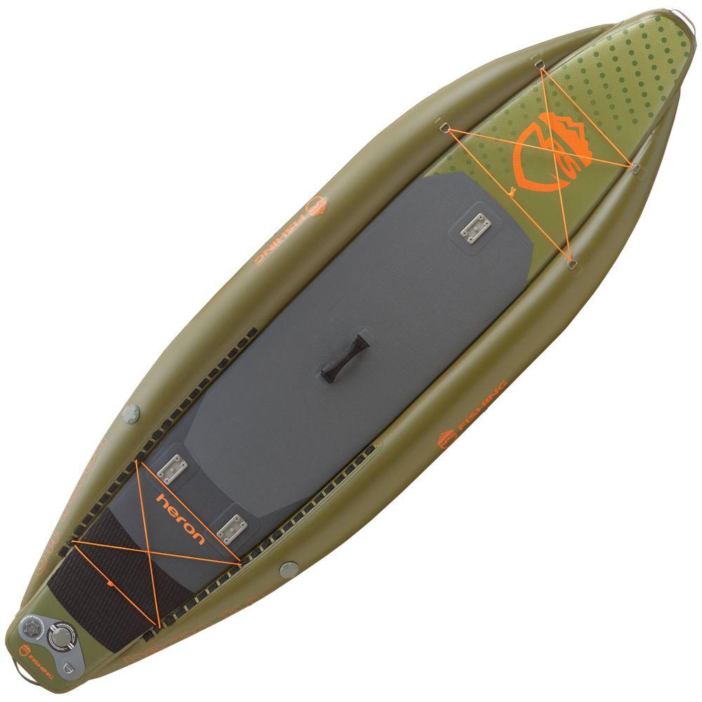 NRS Heron Fishing Inflatable SUP Board 11' Fishing Paddle Board