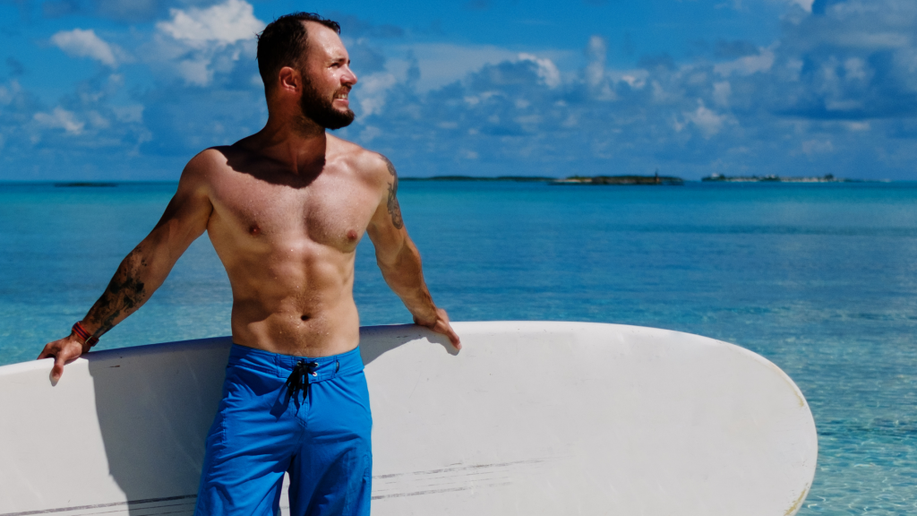 Abdominal Muscles Paddleboarding