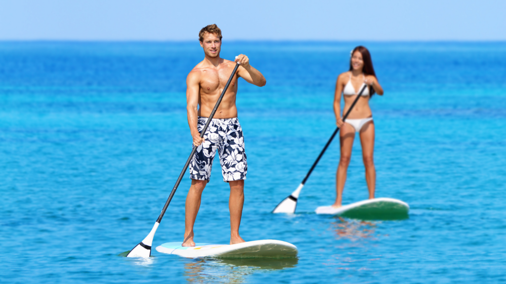 Paddle Boarding Is A Full Body Workout