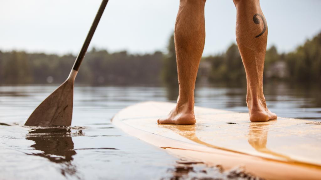 Leg Muscles Paddleboarding