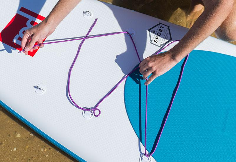 How To Install A Bungee Cord To Your Paddle Board