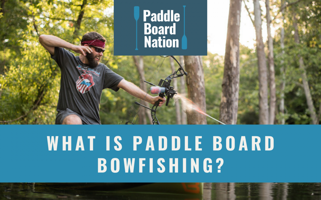 What Is Paddle Board Bowfishing?