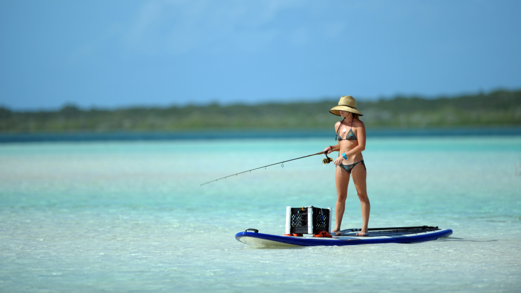 Using A Paddle Board For Fishing