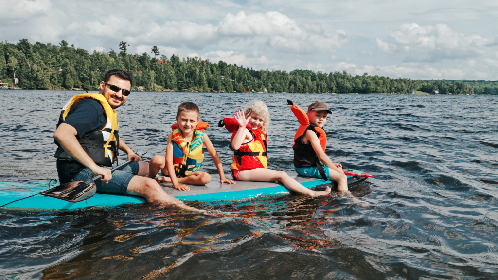 Using A Paddle Board For Recreational Paddling